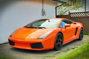 Orange Classic Gallardo by SeanTheCarSpotter