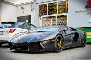 Aventador Roadster by SeanTheCarSpotter