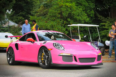 Pink GT3 RS by SeanTheCarSpotter