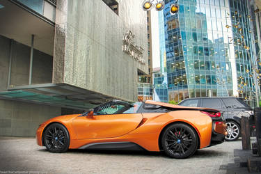 I8 Roadster by SeanTheCarSpotter