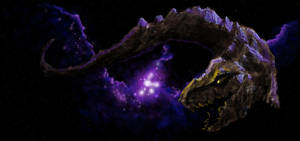 Space Dragon final by NetRaptor