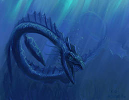 Sea serpent by NetRaptor