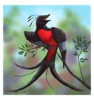 Extinct bird by NetRaptor