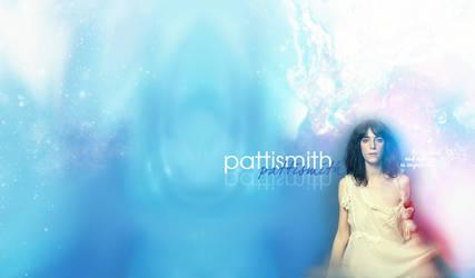 Wallpaper Patti Smith by KurtMurder