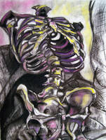 Neon Skeleton by DragonBeak