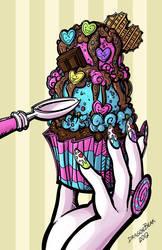 Harajuku Cupcake by DragonBeak