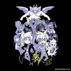 Triple Threat Bakura - Shirt Design by DragonBeak