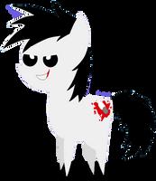 BBBFFJeff the Killer Pony by InkKirby