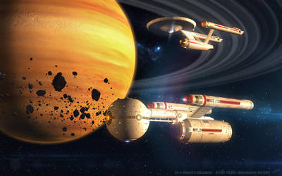 In a Giant's Shadow - STAR TREK - Daedalus Series by vnm51