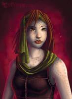 Alien Girl by joanniegoulet