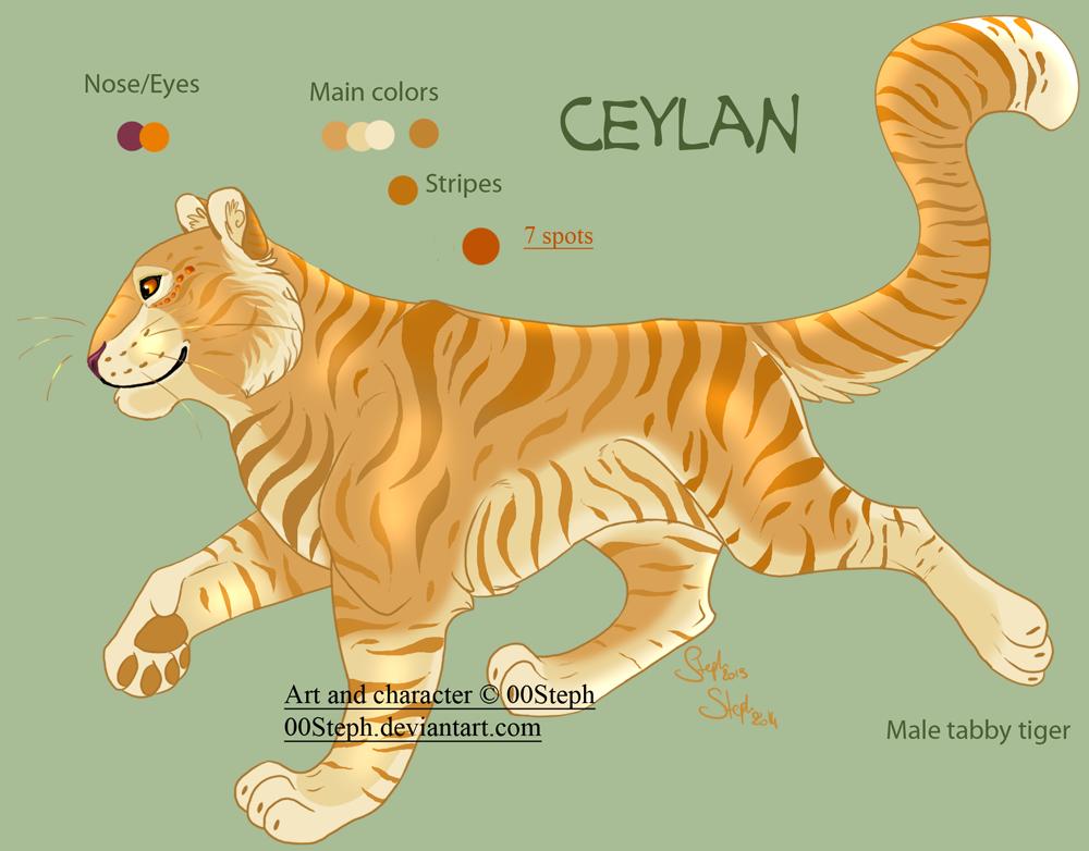 Ceylan temporary Ref by Agent00Steph