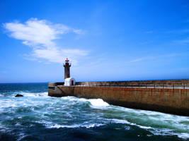 Foz Lighthouse by WhiteBook
