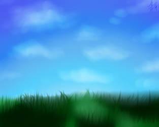 Grasssss [DIGITAL] by Over-Joyed