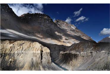 Beauty in desolation by Swaroop