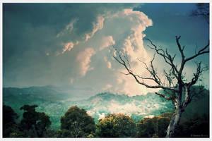 Hilltop enchantment by Swaroop