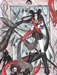 Black Widow Senshi by ladyz0e