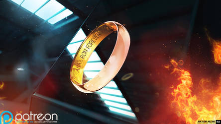 Daudalus Conceptarts: Wedding Ring by blackcloudstudios