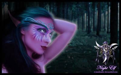 Night Elf by Armadaxster