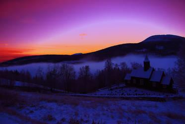 Magical Sunrise by NaturePicturist