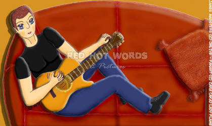 Guitar Man by Lady-Flame