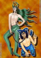 Maki-Demon-Toudou-Kitty by Lady-Flame