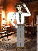 Blaise Zabini - Year 6 by Lady-Flame