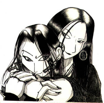 EiYa and Luci Luci FanART by eiya-and-luci