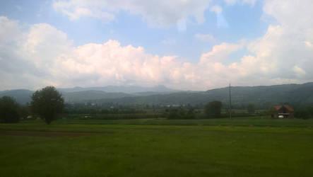 Mountains by Wrona-Czarna