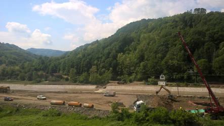 Construction by Wrona-Czarna