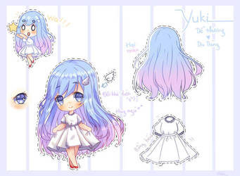 Yuki's design by Myding2k3