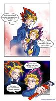 Yu-Gi-Oh meets The Abridged by nnaj