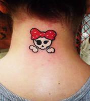 cute skull by eminimal