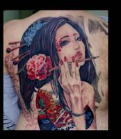 geisha by eminimal