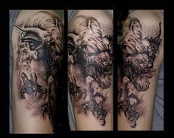 fantasy dragon by eminimal