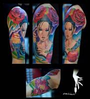 color geisha by eminimal