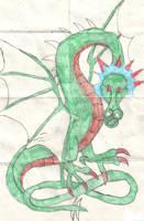 Dragon by shadows345