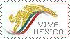 Viva Mexico Postal stamp by AJcosmo