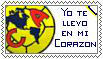 Club America Postal Stamp by AJcosmo