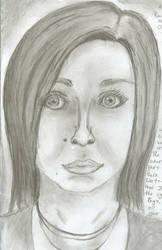 Self portrait by truesmiles