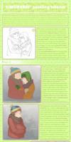 Digital Painting tutorial by Kiwisaurus