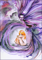 Depression by Risata