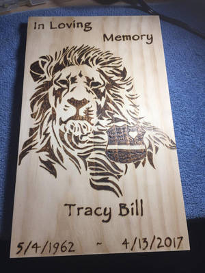 Memorial to a dear friend. by PyroGeekArt