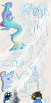 Sketch dumping by vilovine