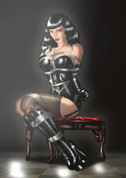 Bettie Page by erikson1