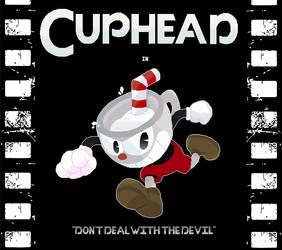 Cuphead - Pixel Quickie Fanart by FierceTheBandit