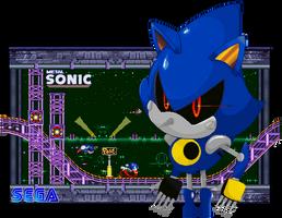 Race for your life, Metal Sonic by FierceTheBandit