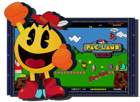 Family Man And Hero Of Fairies - Pac-Man by FierceTheBandit