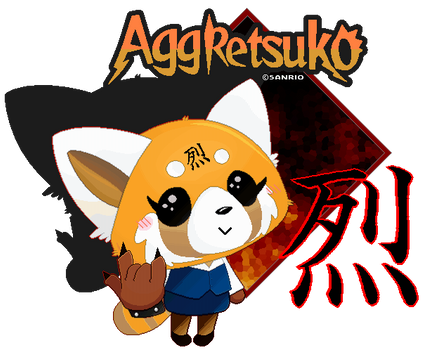Death Metal Forever! - Aggressive Retsuko by FierceTheBandit