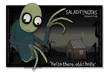 Inquirer of Rusty Spoons - Salad Fingers by FierceTheBandit