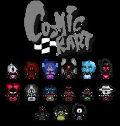 Super Cosmic Kart by FierceTheBandit